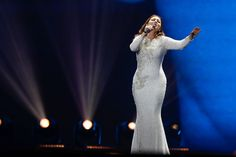 Claudia Faniello just took the stage for her first rehearsal. The Maltese singer performed her song Breathlessly in the first of two dresses she brought to Kyiv. Malta, Formal Dresses, Wedding Dresses, Photo Galleries, Songs, Europe, Fashion, Dresses For Formal, Bride Dresses