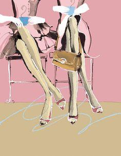 Aasha Ramdeen #fashion #illustration