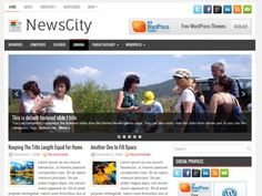 NewsCity Free WordPress ThemeNewsCity is a clean, modern News/Magazine free WordPress theme with boat loads of powerful features utilizing the latest WordPress versions. Change your logo, favicon or featured images options easily from the easy to use administration panel. Lots of custom widgets also included with the theme