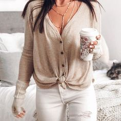 30 Gorgeous Free Cardigan Patterns for Women 2019 - Page 32 of 34 - Anziehideen - Fall Outfit Outfits Otoño, Cardigan Outfits, College Outfits, Casual Outfits, Fashion Outfits, Womens Fashion, Fashion Trends, Black Outfits, Fashion 2016