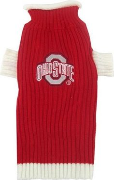 NCAA Ohio State Buckeyes Pet Sweater