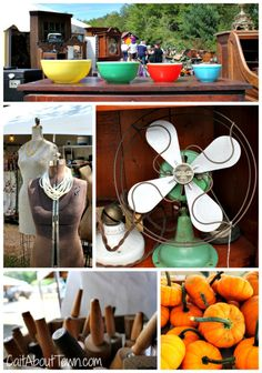 Vintage decor finds at Brimfield Antique Show