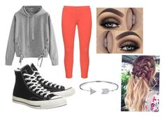 """""""Arrow"""" by zeola-coble on Polyvore featuring WithChic, NYDJ, Converse and Bling Jewelry"""