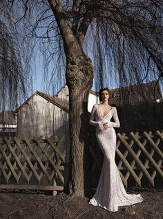 Stunning Wedding Dresses by Anna Campbell 2013 inbal dror 2013 bridal long sleeve wedding dress lace Bride Gorgeous Wedding Dress, Dream Wedding Dresses, Bridal Dresses, Wedding Gowns, Wedding Bride, Wedding Blog, Wedding Photos, Lace Wedding, Wedding Ideas