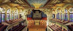 Concert-Hall-Palau-de-la-Musica-Catalana #barcelona