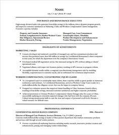 Insurance Executive Resume Free , Executive Resume Template And What You  Should Include , The Executive Resume Template Can Serve As A Guide For You  When ...