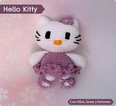 Hello Kitty bailarina lila