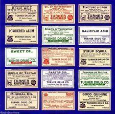 1940s medicine labels - Google Search