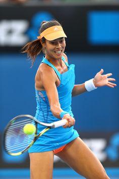 Ana Ivanovic during Australian Open: Day 3 #AUSOpen #AdjeAna #Ana