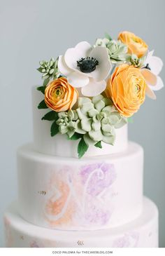 The Most Spectacular Wedding Cakes - Cake: Coco Paloma Desserts
