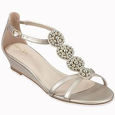 20b8969fdc074 east5th® Jasmine Embellished T-Strap Sandals - jcpenney wedges Cute Sandals