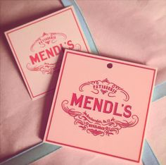 ************************************************************** Check out the new Mendls Wrapping Paper I made: