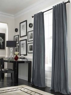 curtains for a big windows