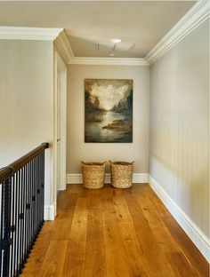 Soft gray wall color paint color. Soft gray paint color is Benjamin Moore London Fog. #SoftGray #PaintColor #BenjaminMooreLondonFog