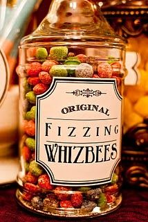 Skittles brand Fizzl'd Fruits = Fizzing Whizbees - and other ideas from the books
