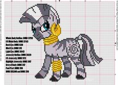 Zecora Cross Stitch Pattern by *AgentLiri Crossstitch and Embroidery Pattern My Little Pony Crafts Tutorial  My Little Pony Patterns for Fan Art Diy Projects, My Little Pony Sewing Template for  Unicorn , pony, ponies, pattern, template, sewing, diy , crafts, kawaii, MIP