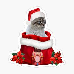 Cracker, Grey Cats, Haikyuu, Classic T Shirts, Disney Characters, Fictional Characters, Santa, Stickers, Christmas Ornaments