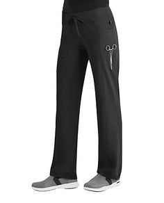 100c7bb234 Infinity By Cherokee Low Rise Straight Leg Drawstring Scrub Pants With  Certainty | Scrubs & Beyond