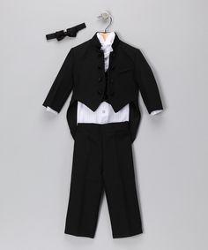 Black Tux Set - Infant, Toddler & Boys - regularly $57.50, on sale for $29.99