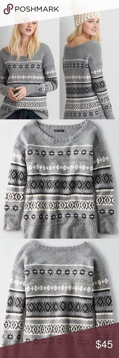 American Eagle Outfitters Jegging Sweater Gorgeous AEO Jegging sweater worn once. In perfect condition. So pretty! American Eagle Outfitters Sweaters