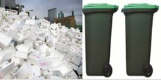 Hire Polystyrene Recycling Bins in Adelaide
