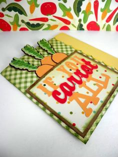 Cricut Just Because Cards If you Carrot All Card