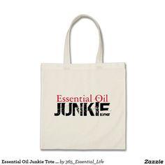 Essential Oil Junkie Tote Bag