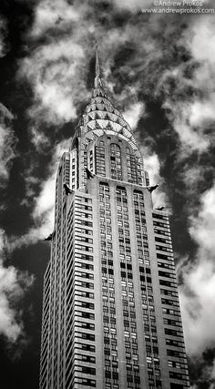 Panoramic View of the Chrysler Building - Fine Art Print - http://andrewprokos.com