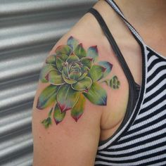 10+ Awesome Succulent Tattoo Ideas For People Who Are Crazy About Succulents