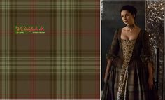 Ross Hunting (Reproduction Colors) - Claire's Gathering gown