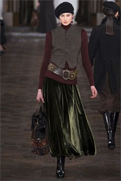 Sfilata Ralph Lauren Collection New York - Collezioni Autunno Inverno 2013-14  - Vogue b15872b018b