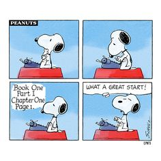 How writers really feel when they begin a book.
