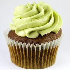 Tao of Green: Matcha Green Tea cake with Green Tea buttercream frosting