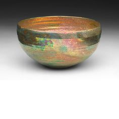 Bowl Date: Artist: Beatrice Wood Media: luster-glazed earthenware One of my favorite artists of all time. Glazes For Pottery, Pottery Bowls, Ceramic Pottery, Pottery Art, Glazed Pottery, Ceramic Clay, Ceramic Bowls, Beatrice Wood, Modern Ceramics