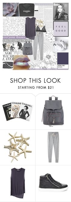 """you'll want to go back"" by adal1ne ❤ liked on Polyvore featuring Chanel, Assouline Publishing, Rebecca Minkoff, Steven Alan, Acne Studios, Steve Madden and Lacava"