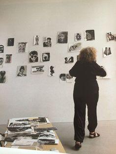 Marlene Dumas studio