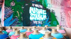 Heineken Restores Abandoned Stadium By Bringing Colorful Graffiti To Life