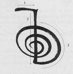 Cho Ku Rei reversed reiki symbol