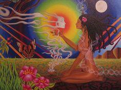 Artist Mariela de la Paz