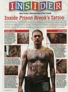 thread prison break tattoo 2 i tattoodonkey Prison Break And tattoo  PRISION BREAK ? | tattoos picture prison break tattoo