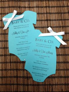 Baby & Co.  Tiffany Inspired Onesie Baby by alisamariedesigns, $1.50