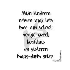 Altijd leuk als kinderen iets van school meenemen... of toch niet?? #lol #humor…