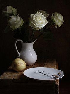 Сахарные розы и тонкая веточка | Flickr - Photo Sharing!
