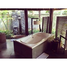 One bedroom deluxe pool villa at Kayumanis Ubud photo by Instagram user @thesejoys