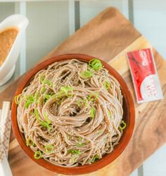 Sesame Soba Noodle recipe