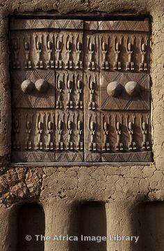 Africa | Traditionally carved Dogon window shutters, Sanga, Dogon Country, Mali | © Ariadne Van Zandbergen