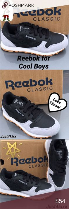 New Big Boys Reebok Classic  Classic with a cool twist ... Priced firm Worth every penny Reebok Shoes Sneakers