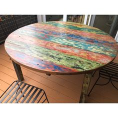 Whimsical Painted Furniture, Funky Furniture, Furniture Making, Furniture Makeover, Painting Furniture, Recycled Furniture, Furniture Ideas, Recycled Decor, Resin Furniture