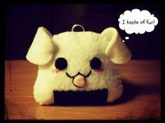 Hapy Friends Shoppe: How To Make A Kawaii Puppy/Dog Onigiri Plushie
