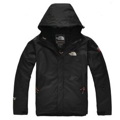 Factory North Face Jacket Gore Tex Men Deepblack Jacket KT109784
